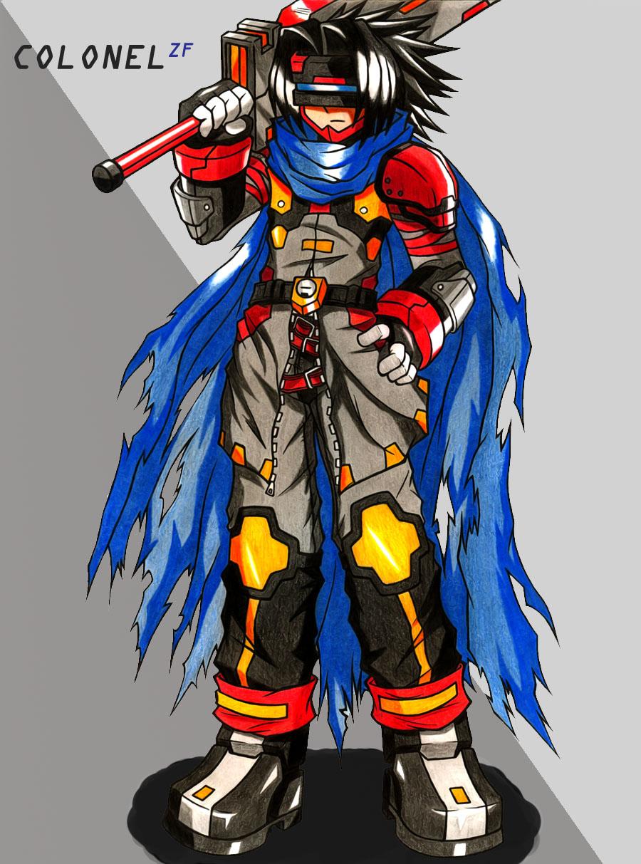 ROL:CI: EAS II //ARCO-2 [SAGA 2: Arca del Mundo. Un Sogukkense ¿entre nosotros?]\\ - Página 3 Rockman_X_Reloaded__ColonelZF_by_Megaman_X_Community