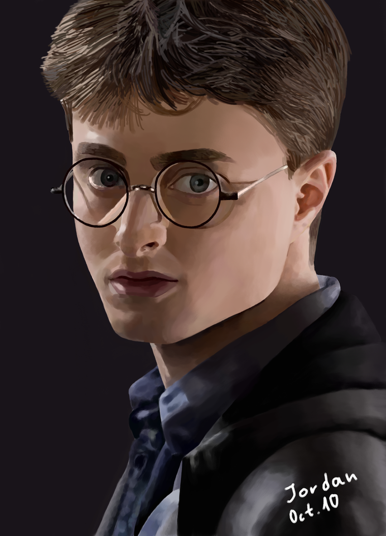 Harry Potter-my first portrait by UsayFudo