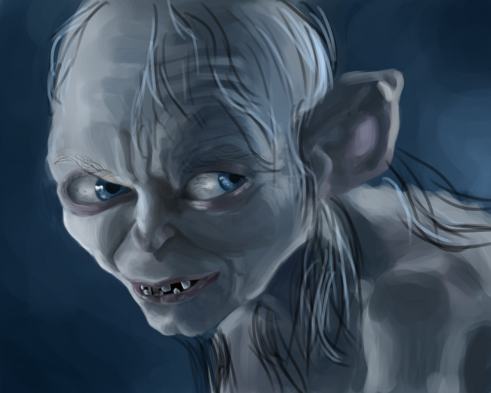 Lord of the Rings-Gollum by UsayFudo on DeviantArt