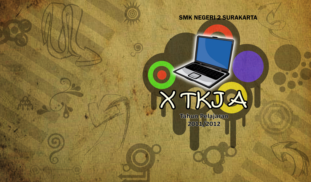 Wallpaper kelas X TKJ A 2011/2012 by anton3c