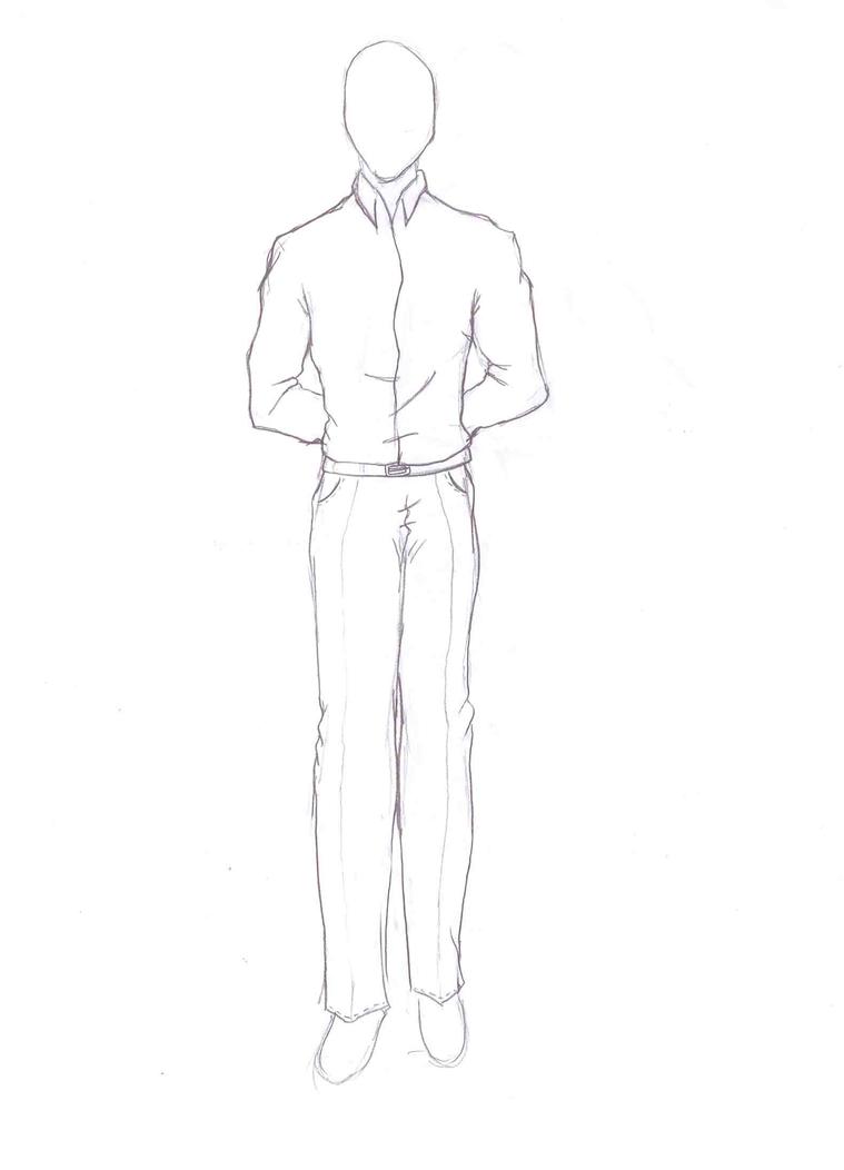 Standing Man-Clothes Training by SanoraBluebird on DeviantArt