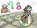 tiny snek has fun tiny adventure