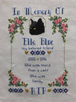 Memorial Cross Stitch For Ella by PrettyDonguri