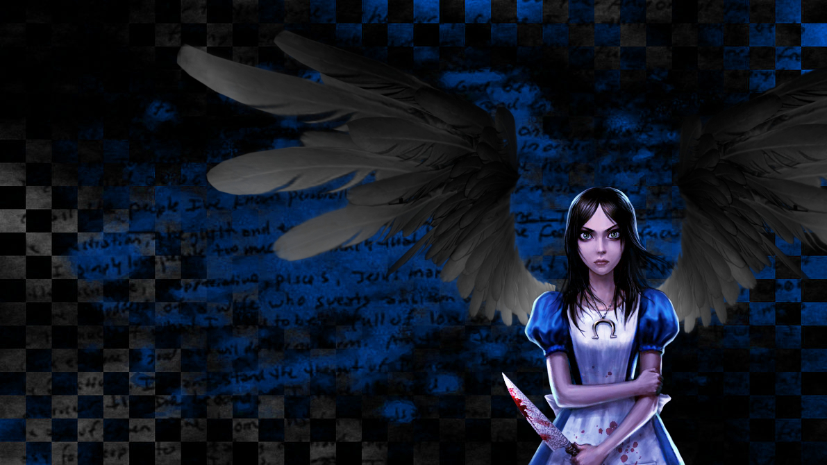 Dark Angel Alice Wallpaper By Uke-zaidy2008 On DeviantArt
