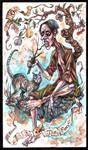 Tarot - 0 The fool by zsofiadome