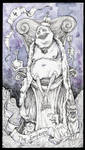 Tarot - 4 The Emperor by zsofiadome