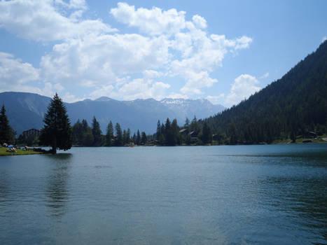 Champex Lake Switzerand
