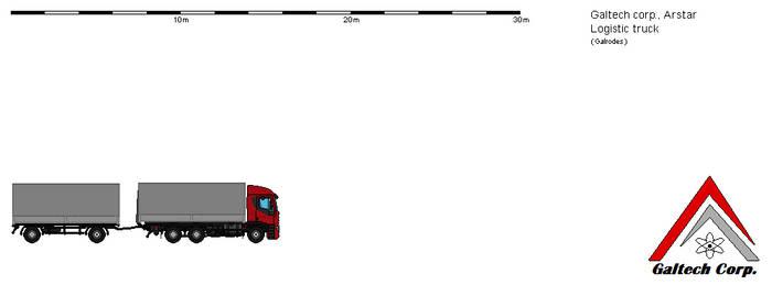 Galtech corp. Arstar logistic truck