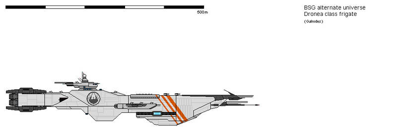 Dronea class frigate