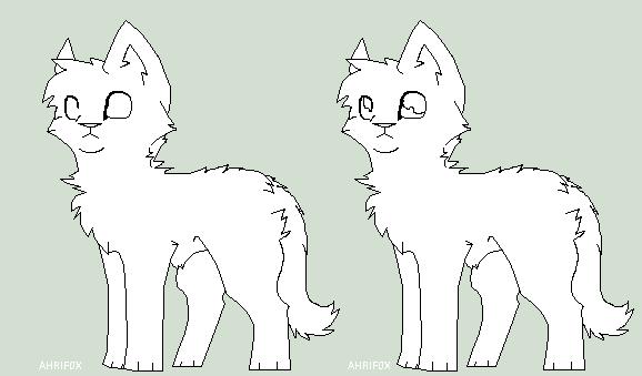 Chibi Cat Base Chibi Cat Base by Ahrif0x