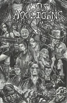 Los Hooligans-Rough Sketched comic cover fan art
