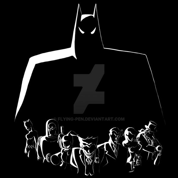 d9bf5d5fe Batman T-shirt design fanart by Flying-pen on DeviantArt