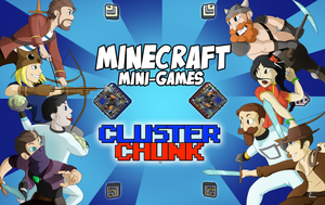 Minecraft Mini-games Cluster Chunk by Flying-pen