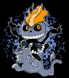 Little ghost skeleton