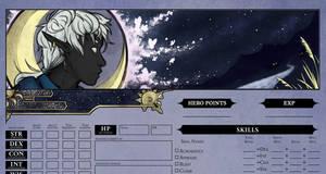 Ildan - Character Sheet Header Pathfinder