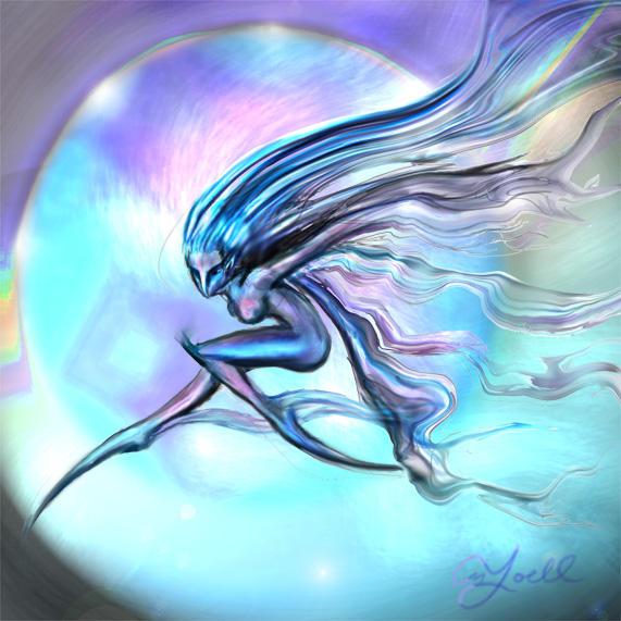 Wind Spirit By Yoell On DeviantArt - Wind spirit