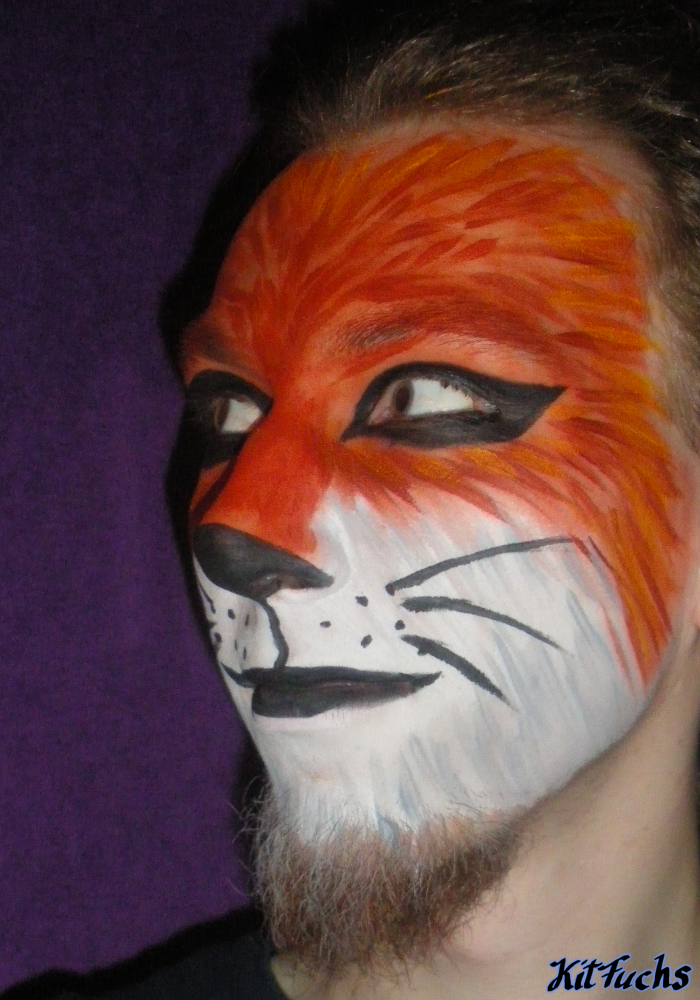 Fox Face Paint Facepaint 2 By Kitfuchs