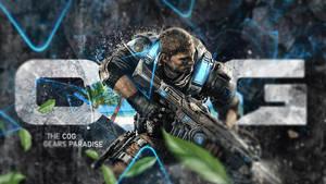 Gears of War 5 - Cog Team Desktop Wallpaper