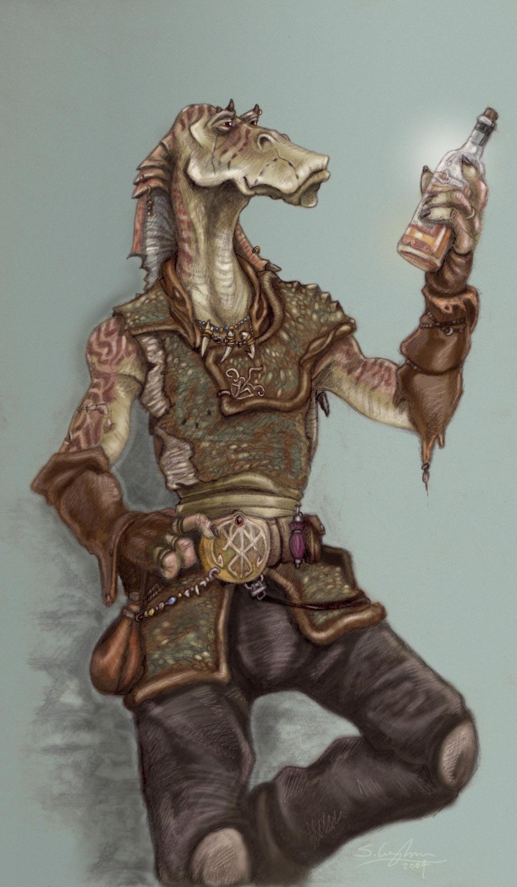 Gungan Smuggler by StuCunningham on DeviantArt