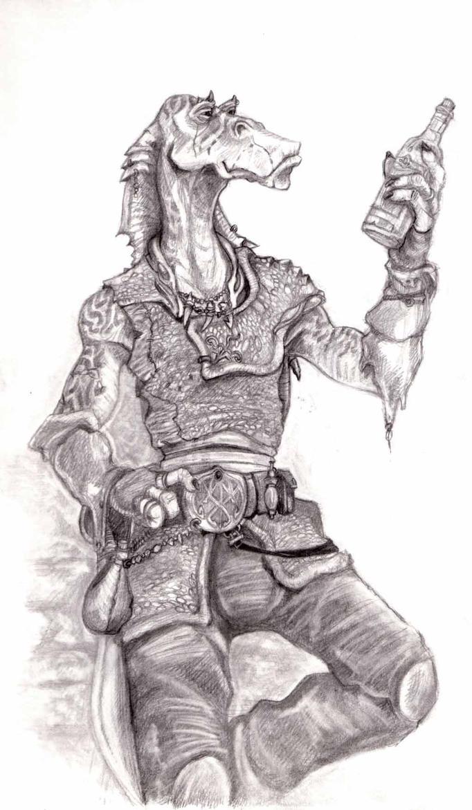 Gungan Smuggler - Pencils by StuCunningham