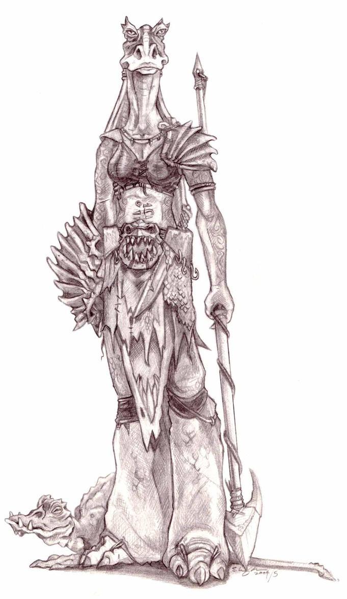 Gungan Beastmaster by StuCunningham