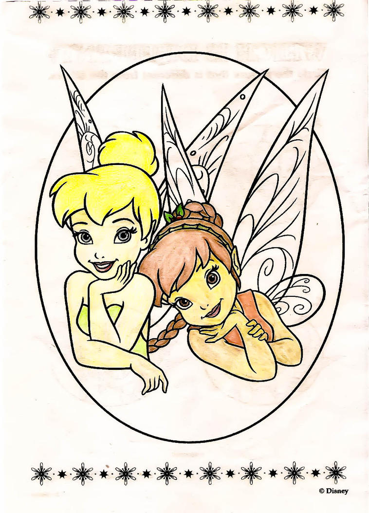Tinkerbell Coloring Book - 1 by Jaycie-Hake on DeviantArt