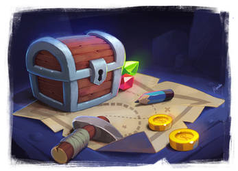 treasure chest by yogipal117