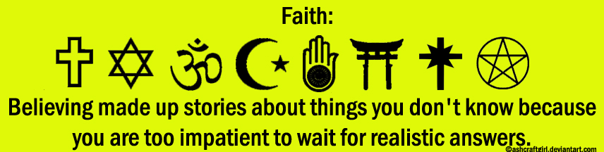Atheist Bumpersticker 4 by zomberinacontagion