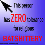 Atheist Arrow Icon for FB by zomberinacontagion
