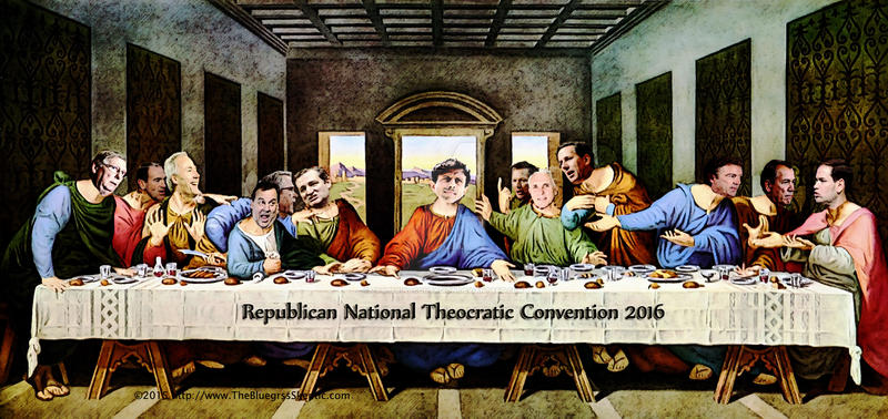 The Republican Last Supper 2016 by zomberinacontagion