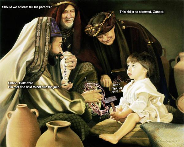 Happy Birthday, Jesus! by zomberinacontagion