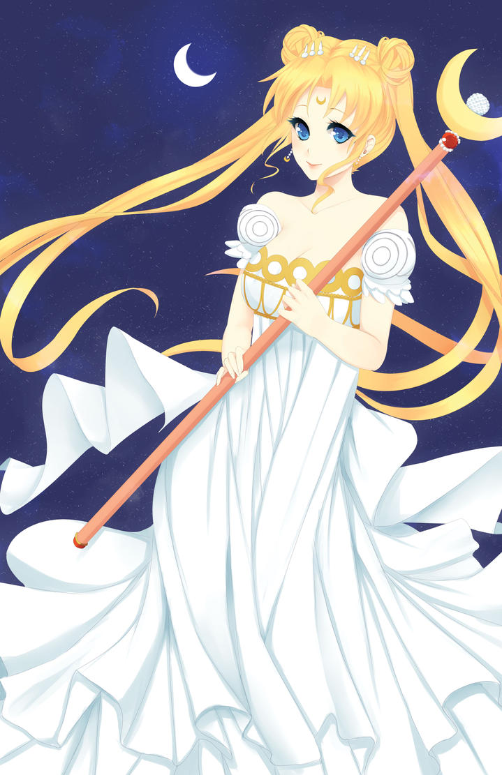Sailor Moon by Amethystheart14