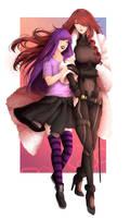 RLC: Megidodyne  ( Lucy and Mitsuru)