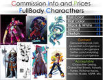 Commission Info and Prices - FullBody
