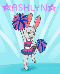 Ashlyn Cheers! by Diddgery