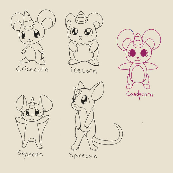 Cricecorn Variants