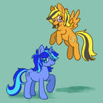 Honeybloom And Cobalt Spark swapped