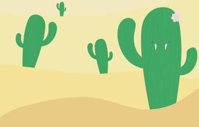 Vampire Cactus !