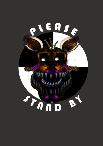 Nightmare Lolbit Please Stand By by reizosaurus-64 on DeviantArt