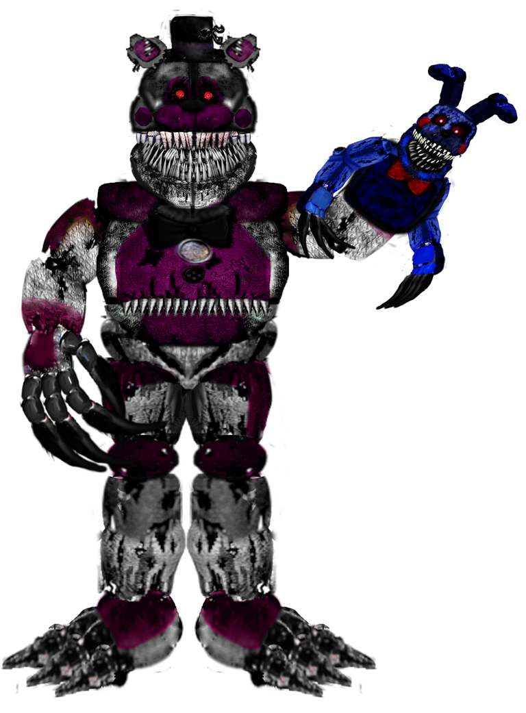 Nightmare Funtime Freddy Version 2 By Reizosaurus 64 On