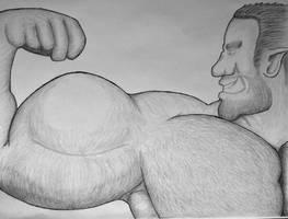 Bigger than his head (Traditional)