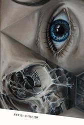 Kaleidoscope-magnified