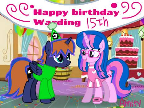 Happy birthday Warding