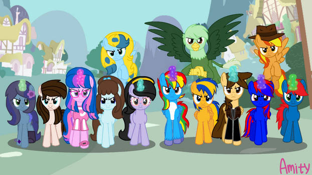 We save my friends!!! (My mane 6 and EJ's mane 7)