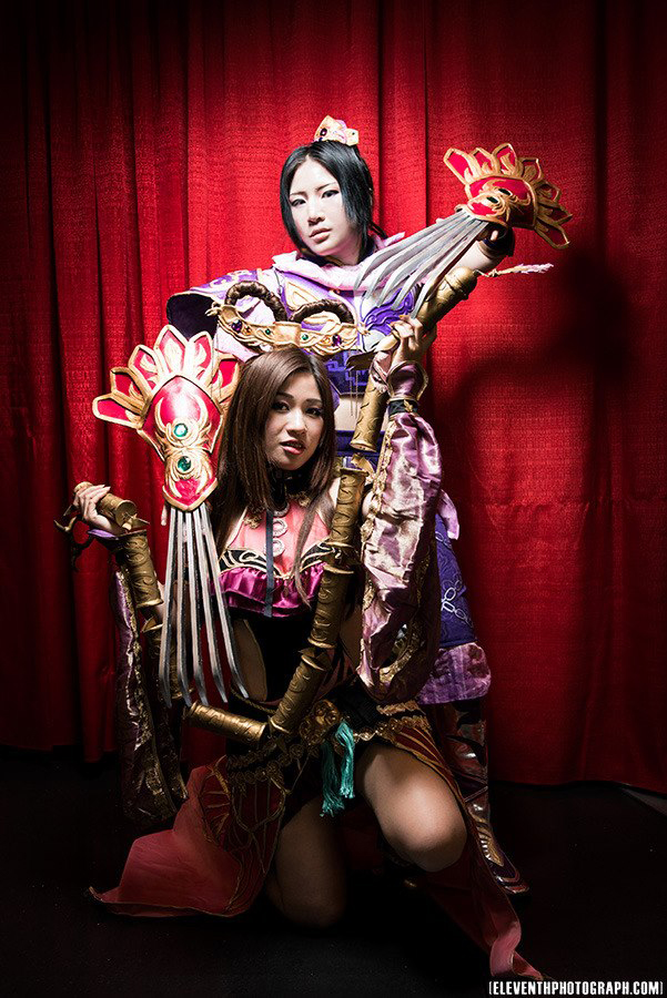 Zhang he and diaochan dynasty warriors by cosplay4funultimate on deviantart - Seven knights diaochan ...