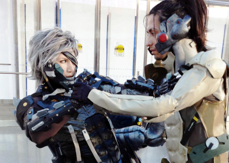 Raiden Refuses Sam's Advances by Cosplay4FunUltimate