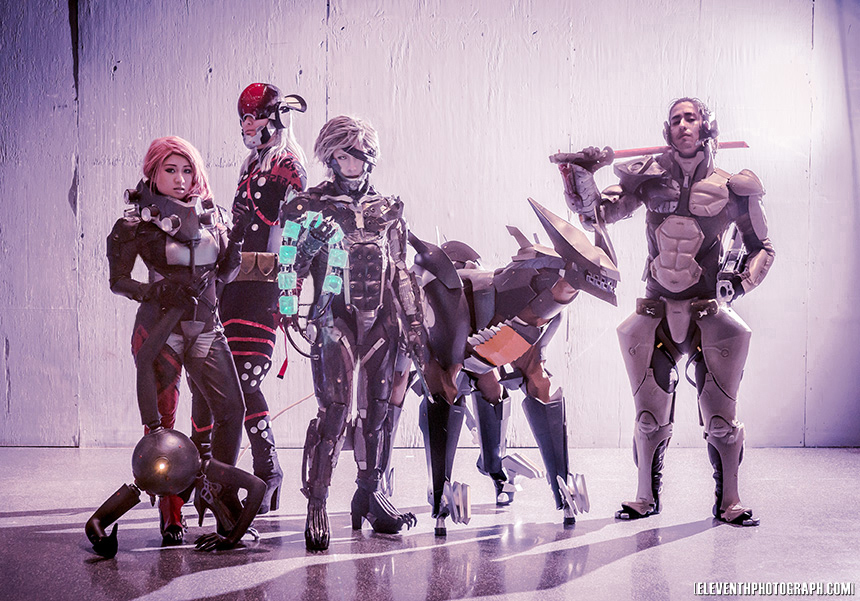 Pro Voltage Cosplay MGR Group by Cosplay4FunUltimate
