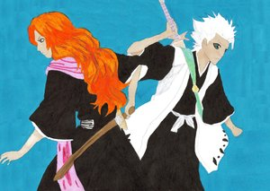Got Your Back by DeeryMe by Hitsugaya-x-Rangiku
