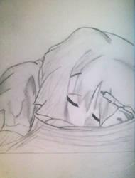 Haruka-chan Sleeping by DiamondRoseTears