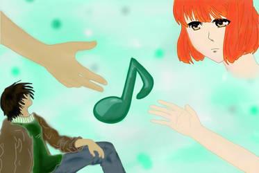 Somebody take my hand and lead me (Haruka - Cecil) by DiamondRoseTears